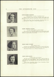 Page 14, 1936 Edition, Millbury High School - Aftermath Yearbook (Millbury, MA) online yearbook collection