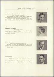 Page 15, 1936 Edition, Millbury High School - Aftermath Yearbook (Millbury, MA) online yearbook collection