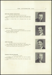 Page 17, 1936 Edition, Millbury High School - Aftermath Yearbook (Millbury, MA) online yearbook collection