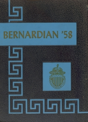 1958 Edition, St Bernards High School - Bernardian Yearbook (Fitchburg, MA)