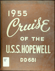 Page 1, 1955 Edition, Hopewell (DD 681) - Naval Cruise Book online yearbook collection