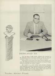 Page 10, 1958 Edition, Ralph C Mahar Regional High School - Toga Yearbook (Orange, MA) online yearbook collection