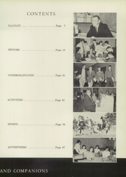 Page 9, 1958 Edition, Ralph C Mahar Regional High School - Toga Yearbook (Orange, MA) online yearbook collection