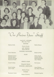 Page 7, 1952 Edition, Turners Falls High School - Yearbook (Turners Falls, MA) online yearbook collection