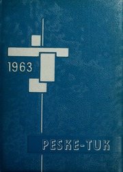 Turners Falls High School - Peske Tuk Yearbook (Turners Falls, MA) online yearbook collection, 1963 Edition, Page 1
