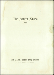 Page 5, 1946 Edition, St Marys High School - Sancta Maria Yearbook (Lynn, MA) online yearbook collection