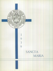 Page 6, 1959 Edition, St Marys High School - Sancta Maria Yearbook (Lynn, MA) online yearbook collection