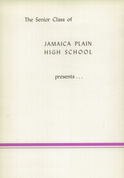 Page 6, 1942 Edition, Jamaica Plain High School - Yearbook (Boston, MA) online yearbook collection
