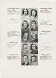 Page 38, 1945 Edition, Jamaica Plain High School - Yearbook (Boston, MA) online yearbook collection