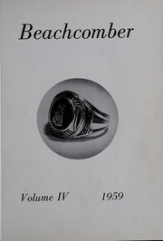Page 5, 1959 Edition, Nauset Regional High School - Nauset Tides Yearbook (North Eastham, MA) online yearbook collection