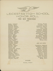 Page 10, 1942 Edition, Leicester High School - Maroon Yearbook (Leicester, MA) online yearbook collection
