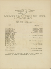 Page 11, 1942 Edition, Leicester High School - Maroon Yearbook (Leicester, MA) online yearbook collection