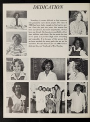 Page 6, 1980 Edition, Leicester High School - Maroon Yearbook (Leicester, MA) online yearbook collection