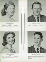 Page 16, 1958 Edition, Cohasset High School - Tessahoc Yearbook (Cohasset, MA) online yearbook collection
