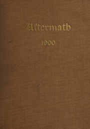 1900 Edition, Worcester Polytechnic Institute - Peddler Yearbook (Worcester, MA)