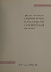 Page 5, 1937 Edition, Worcester Polytechnic Institute - Peddler Yearbook (Worcester, MA) online yearbook collection