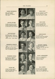Page 13, 1936 Edition, Plymouth High School - Pilgrim Yearbook (Plymouth, MA) online yearbook collection