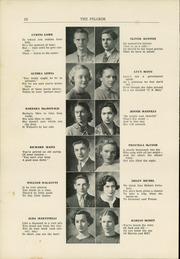 Page 14, 1936 Edition, Plymouth High School - Pilgrim Yearbook (Plymouth, MA) online yearbook collection