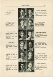 Page 15, 1936 Edition, Plymouth High School - Pilgrim Yearbook (Plymouth, MA) online yearbook collection