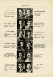 Page 9, 1936 Edition, Plymouth High School - Pilgrim Yearbook (Plymouth, MA) online yearbook collection
