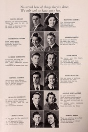 Page 13, 1940 Edition, Plymouth High School - Pilgrim Yearbook (Plymouth, MA) online yearbook collection