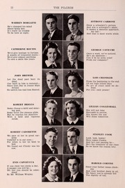 Page 14, 1940 Edition, Plymouth High School - Pilgrim Yearbook (Plymouth, MA) online yearbook collection