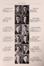 Page 15, 1940 Edition, Plymouth High School - Pilgrim Yearbook (Plymouth, MA) online yearbook collection