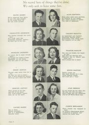Page 10, 1942 Edition, Plymouth High School - Pilgrim Yearbook (Plymouth, MA) online yearbook collection