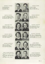 Page 13, 1942 Edition, Plymouth High School - Pilgrim Yearbook (Plymouth, MA) online yearbook collection