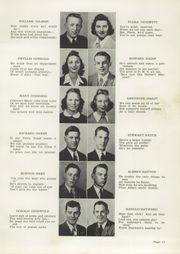 Page 15, 1942 Edition, Plymouth High School - Pilgrim Yearbook (Plymouth, MA) online yearbook collection