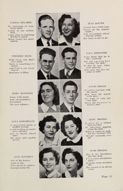 Page 13, 1943 Edition, Plymouth High School - Pilgrim Yearbook (Plymouth, MA) online yearbook collection
