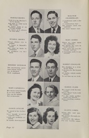 Page 14, 1943 Edition, Plymouth High School - Pilgrim Yearbook (Plymouth, MA) online yearbook collection