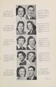 Page 15, 1943 Edition, Plymouth High School - Pilgrim Yearbook (Plymouth, MA) online yearbook collection