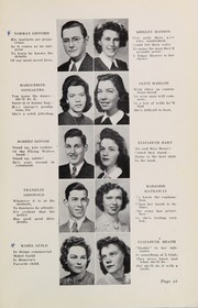 Page 17, 1943 Edition, Plymouth High School - Pilgrim Yearbook (Plymouth, MA) online yearbook collection