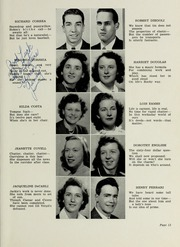 Page 15, 1946 Edition, Plymouth High School - Pilgrim Yearbook (Plymouth, MA) online yearbook collection