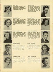 Page 17, 1952 Edition, Plymouth High School - Pilgrim Yearbook (Plymouth, MA) online yearbook collection