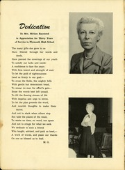 Page 4, 1952 Edition, Plymouth High School - Pilgrim Yearbook (Plymouth, MA) online yearbook collection