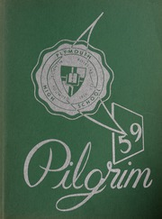 Page 1, 1959 Edition, Plymouth High School - Pilgrim Yearbook (Plymouth, MA) online yearbook collection