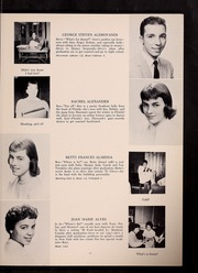Page 15, 1959 Edition, Plymouth High School - Pilgrim Yearbook (Plymouth, MA) online yearbook collection