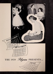 Page 3, 1959 Edition, Plymouth High School - Pilgrim Yearbook (Plymouth, MA) online yearbook collection