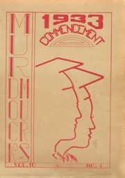 1933 Edition, Murdock High School - Tower Yearbook (Winchendon, MA)
