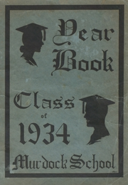 1934 Edition, Murdock High School - Tower Yearbook (Winchendon, MA)