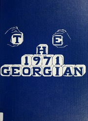 Georgetown High School - Georgian Yearbook (Georgetown, MA) online yearbook collection, 1971 Edition, Page 1