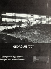 Page 5, 1977 Edition, Georgetown High School - Georgian Yearbook (Georgetown, MA) online yearbook collection