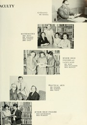 Page 13, 1955 Edition, West Bridgewater High School - Climber Yearbook (West Bridgewater, MA) online yearbook collection