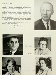 Page 11, 1967 Edition, West Bridgewater High School - Climber Yearbook (West Bridgewater, MA) online yearbook collection