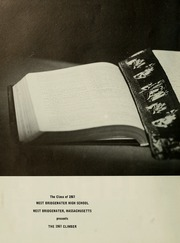 Page 6, 1967 Edition, West Bridgewater High School - Climber Yearbook (West Bridgewater, MA) online yearbook collection