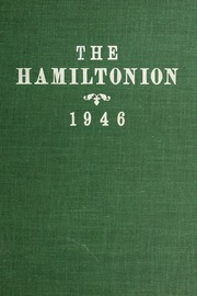 1946 Edition, Hamilton High School - Hamiltonian Yearbook (South Hamilton, MA)