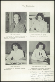 Page 16, 1948 Edition, Hamilton High School - Hamiltonian Yearbook (South Hamilton, MA) online yearbook collection