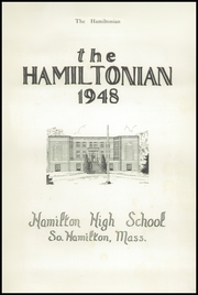 Page 5, 1948 Edition, Hamilton High School - Hamiltonian Yearbook (South Hamilton, MA) online yearbook collection